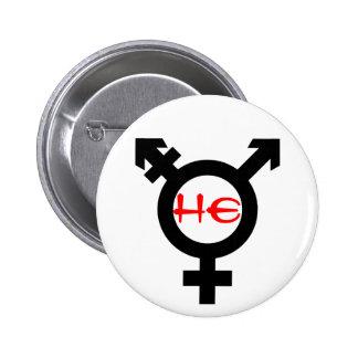 He Transgender Button