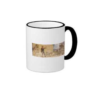 He Treated the Lions as though he was joking Ringer Mug