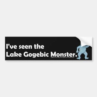 He visto al monstruo de Gogebic del lago. - Pegatina Para Auto