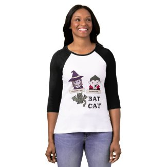 He Wants She Wants Bat Cat Halloween T-Shirt