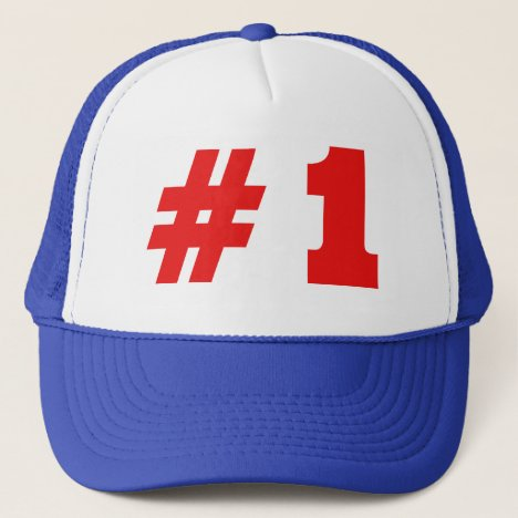 He was #1 trucker hat