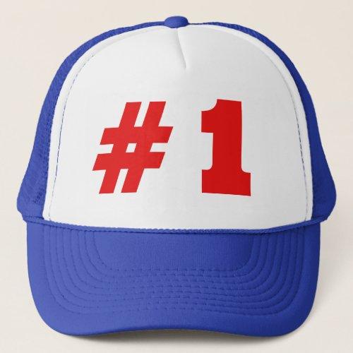 He was 1 trucker hat