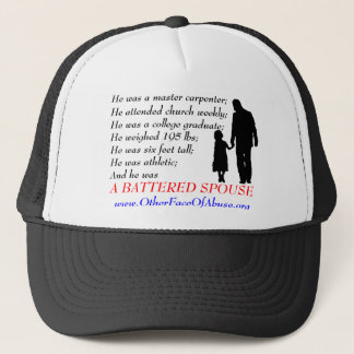 He Was A Battered Spouse Hat