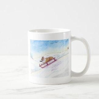 He was a speed fiend classic white coffee mug