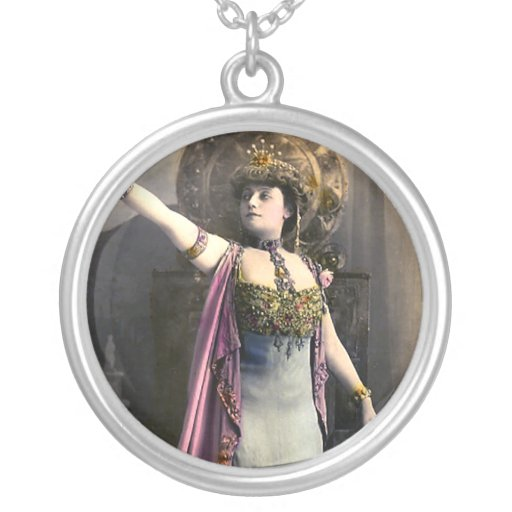 He Went That Way Round Pendant Necklace