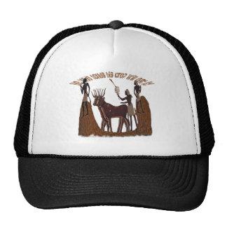 He who tends his  crop trucker hat