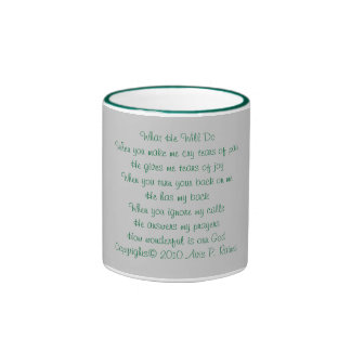 He Will Ringer Mug
