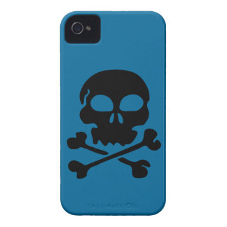 head-30455  head black silhouette skull human cart iPhone 4 case
