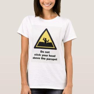 Head-above-the-parapet shirt