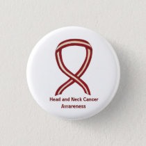 Head and Neck Awareness Ribbon Pin Buttons