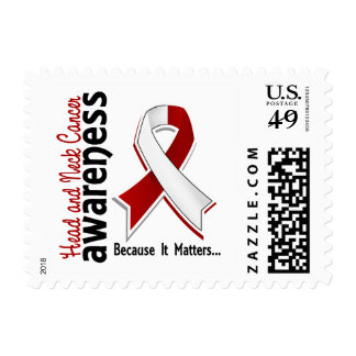 Head and Neck Cancer Awareness 5 Postage