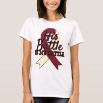 Head and Neck Cancer Awareness His Battle Shirt