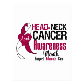 Head and Neck Cancer Awareness Month Postcard