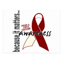 Head and Neck Cancer Awareness Postcard