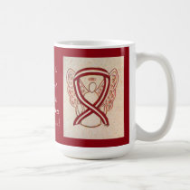 Head and Neck Cancer Awareness Ribbon Coffee Mugs