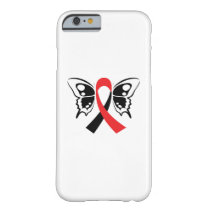 Head and Neck Cancer Awareness Ribbon Fighting Barely There iPhone 6 Case