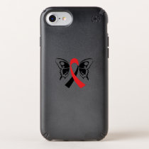Head and Neck Cancer Awareness Ribbon Fighting Speck iPhone Case