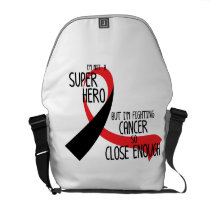 Head and Neck Cancer Awareness Ribbon Hopes Courier Bag