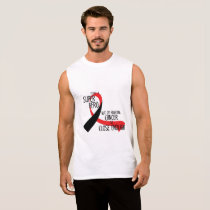 Head and Neck Cancer Awareness Ribbon Hopes Sleeveless Shirt