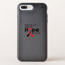 Head and Neck Cancer Awareness Ribbon Hopes Speck iPhone Case