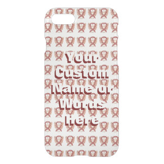 Head and Neck Cancer Awareness Ribbon iPhone Cases