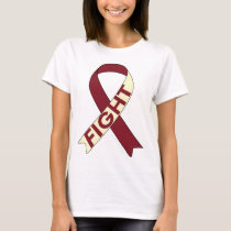 Head and Neck Cancer Awareness Ribbon Shirt