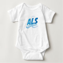 Head and Neck Cancer Awareness Ribbon Support Baby Bodysuit