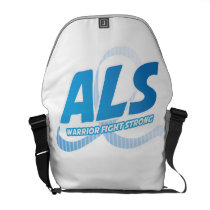 Head and Neck Cancer Awareness Ribbon Support Courier Bag