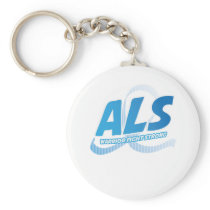 Head and Neck Cancer Awareness Ribbon Support Keychain