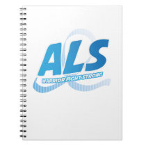 Head and Neck Cancer Awareness Ribbon Support Notebook