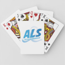 Head and Neck Cancer Awareness Ribbon Support Playing Cards