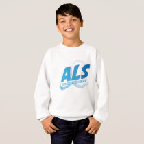 Head and Neck Cancer Awareness Ribbon Support Sweatshirt