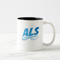 Head and Neck Cancer Awareness Ribbon Support Two-Tone Coffee Mug