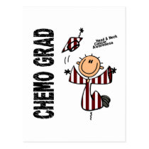 Head and Neck Cancer CHEMO GRAD 1 Postcard