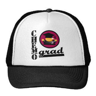Head and Neck Cancer Chemo Grad.png Trucker Hat