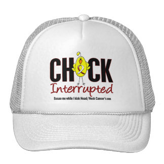 Head and Neck Cancer Chick Interrupted Mesh Hat