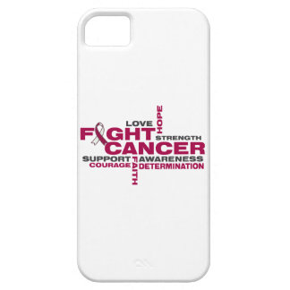 Head and Neck Cancer Fight Collage iPhone 5 Covers