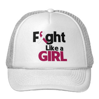 Head and Neck Cancer Fight Like a Girl Hat