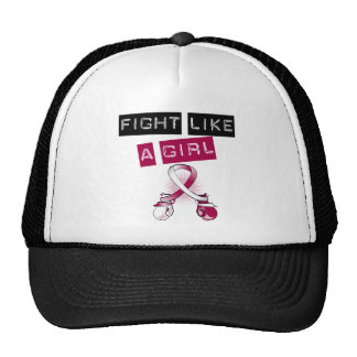 Head and Neck Cancer Fight Like A Girl Hats