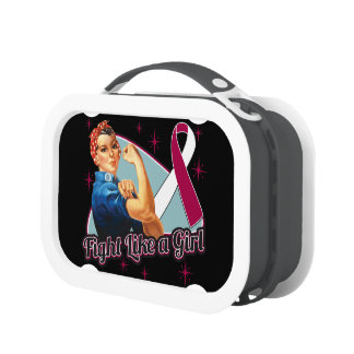 Head and Neck Cancer Fight Like a Girl Yubo Lunch Box