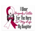 Head and Neck Cancer Hero My Daughter Post Cards