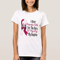 Head and Neck Cancer Hero My Daughter T-Shirt