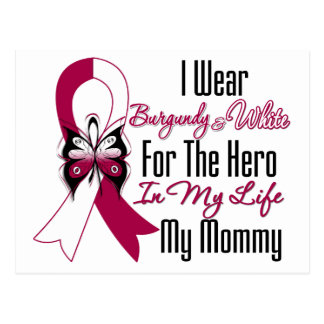 Head and Neck Cancer Hero My Mommy Postcard