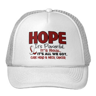 Head and Neck Cancer HOPE 1 Trucker Hat