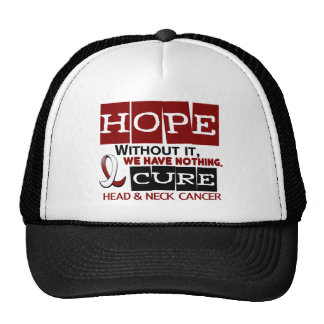 Head and Neck Cancer HOPE 2 Trucker Hat