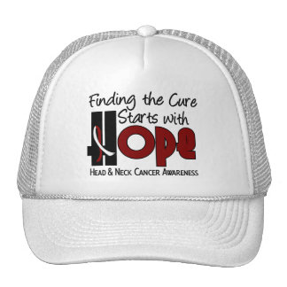 Head and Neck Cancer HOPE 4 Mesh Hat