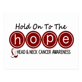 Head and Neck Cancer HOPE 6 Postcard
