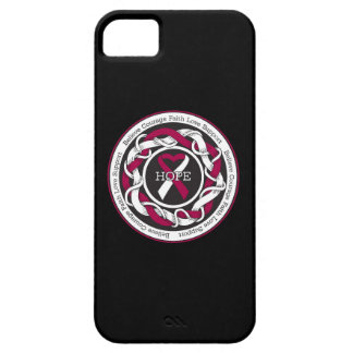 Head and Neck Cancer Hope Intertwined Ribbon iPhone 5 Case
