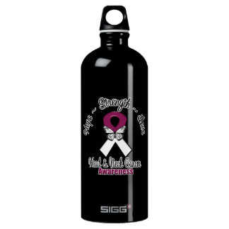 Head and Neck Cancer  Hope Strength Love SIGG Traveler 1.0L Water Bottle