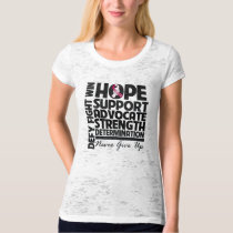 Head and Neck Cancer Hope Support Advocate T-Shirt